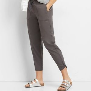 Maurices Slate Tie Waist Ankle Pant